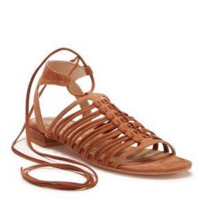Stuart Weitzman Knotagain Gladiator Sandals Sz 6.5